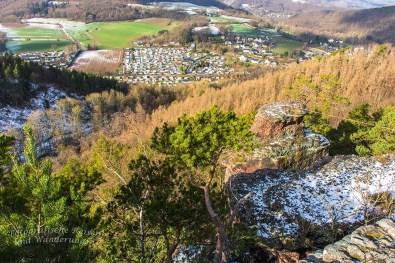 Rurtal und die Felsen