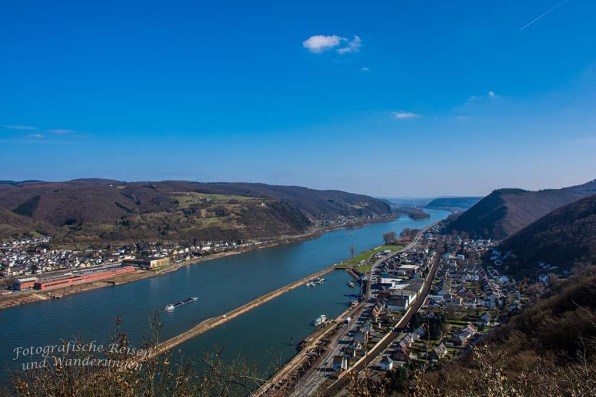 Blick auf das Mittelrheintal