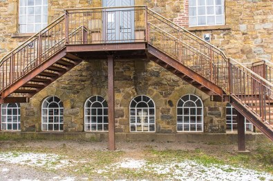 Treppe an der Historische Brennerei Rönsahl