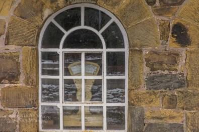 Fenster der Historische Brennerei Rönsahl
