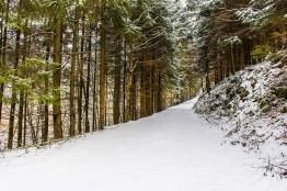 Wieder unberührter Schnee und darunter....EIS EIS Baby