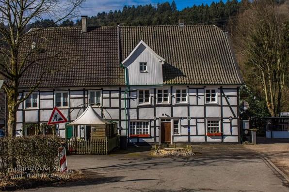 Stille am Landgasthof Wupperhof - Leider nicht geöffnet