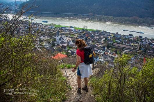 Abwärts zur Edmundhütte