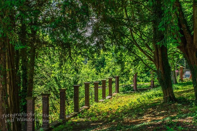 Baldeneysteig zwischen Villa Hügel und Korte Klippe