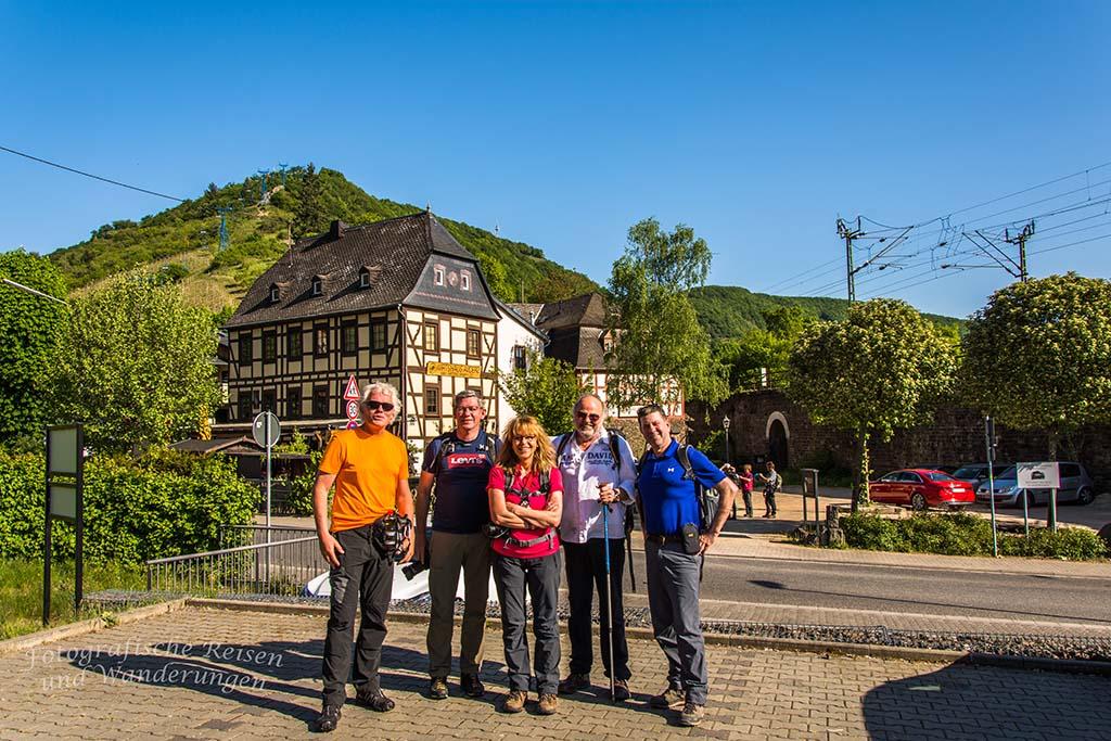 Klettersteig am Mittelrhein in Boppard