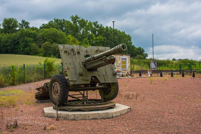 Kanone am FORT D'EBEN EMAEL