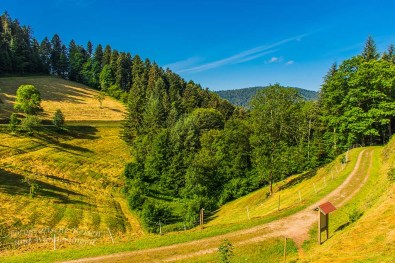 Ein idyllisches Tal