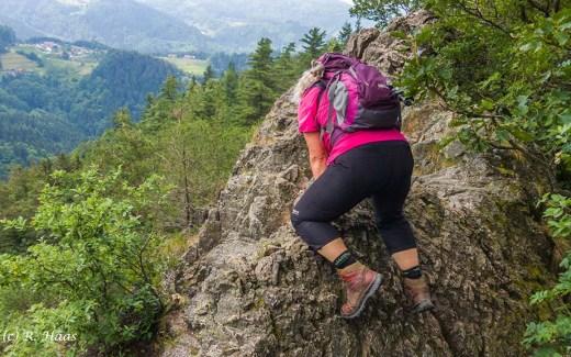 Das Gefühl der Höhenangst