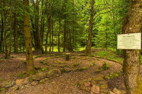 Labyrinth am Ort der Besinnung