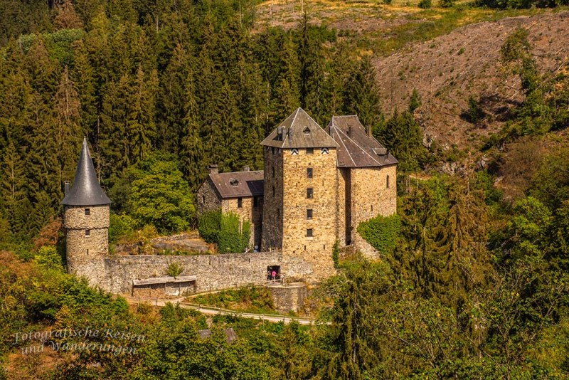Burg Reinhardstein Nahaufnahme