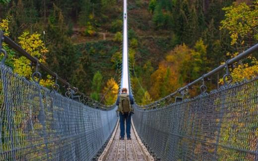 Rundweg um die Hängeseilbrücke Geierlay