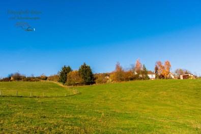 Westerwaldlandschaft im Herbst