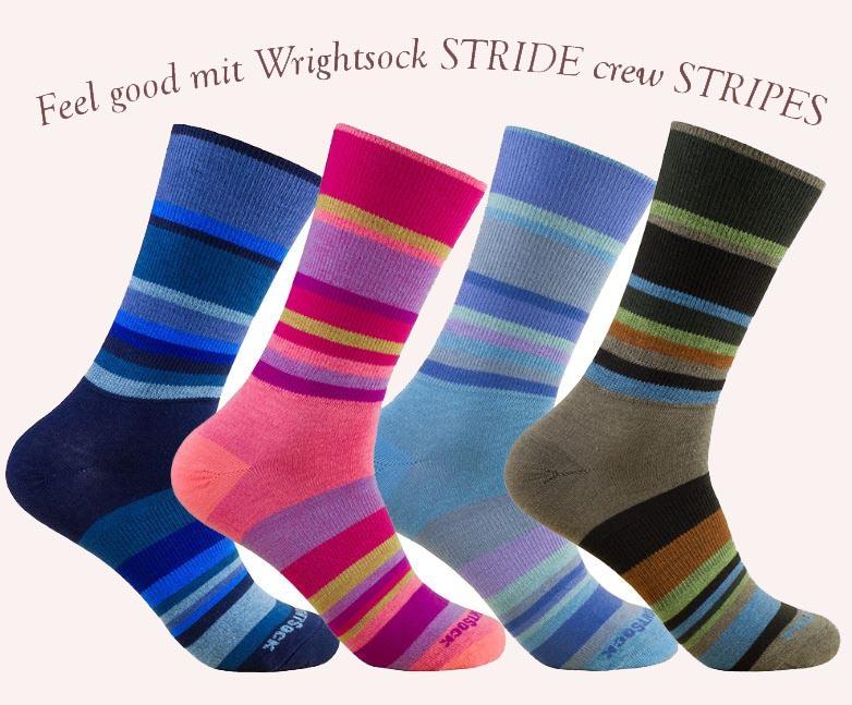Vier verschiedene Farben stehen zur Auswahl, bei den STRIDE crew STRIPES