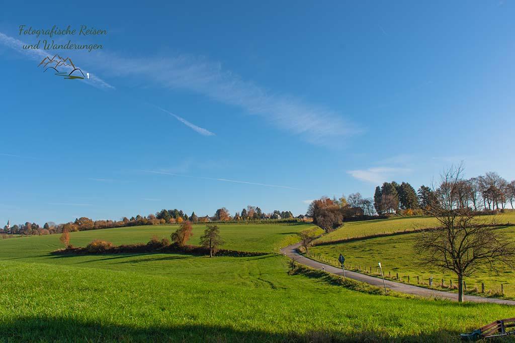 Ein ländliches Landschaftsbild