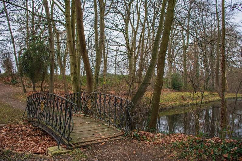 Brücke im Park von Gut Kaisersruh