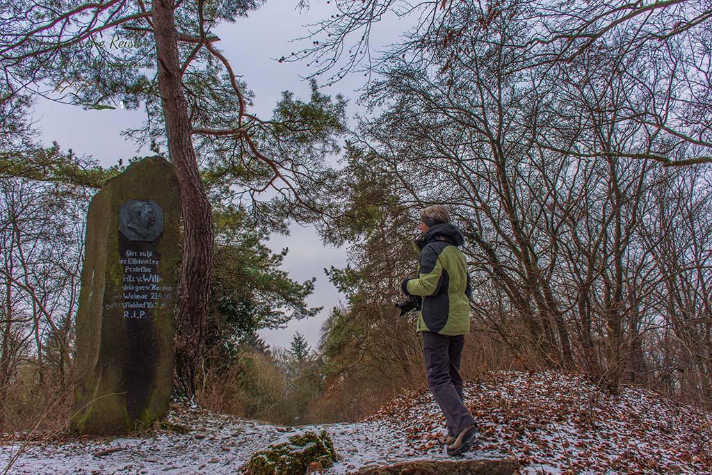 Grab und Denkmal Fritz von Wille
