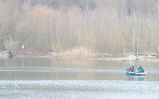 Wege aus dem Winterblues - Blick auf einen See bei trübem Wetter
