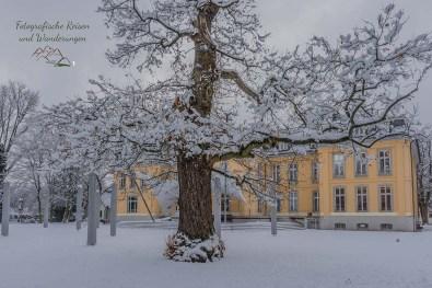 Schloss Morsbroich Rücksansicht