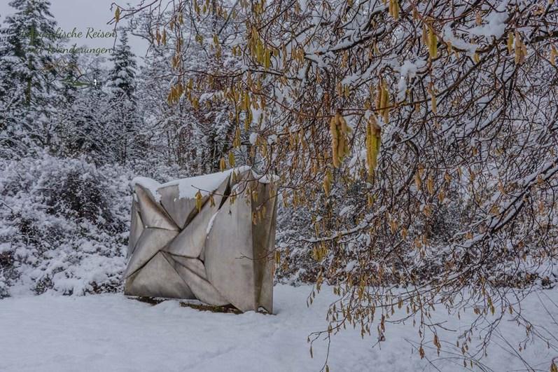 Kunst und Natur auf dem Rundgang durch Schlosspark Morsbroich