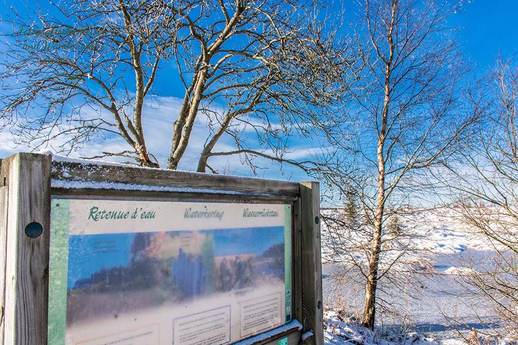 Das Königliche Torfmoor im Schnee