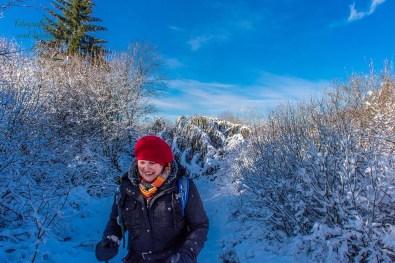 Schneewanderung in Muetzenich (50)