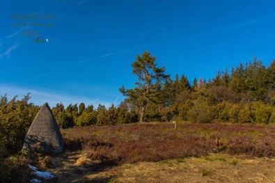 Gedenkstein für den Naturschützer Menke
