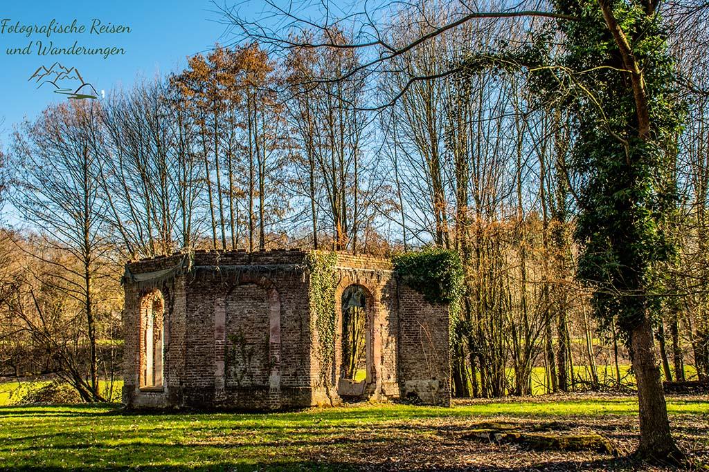 Gartenpavillon aus 1738 Schloss Diersfordt