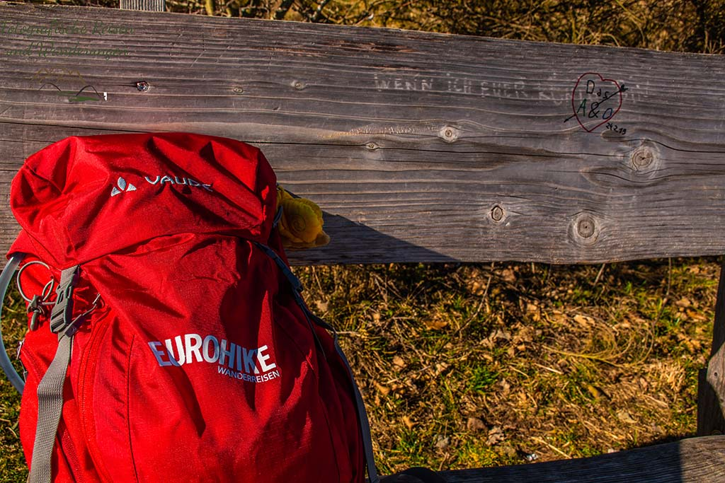 Vaude Jura 20 - Rucksack in indian red