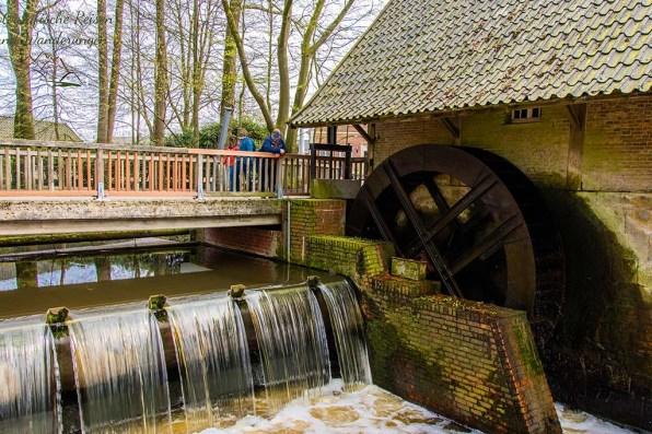 Historische Wassermühle - Haarmühle - Wasserstufe