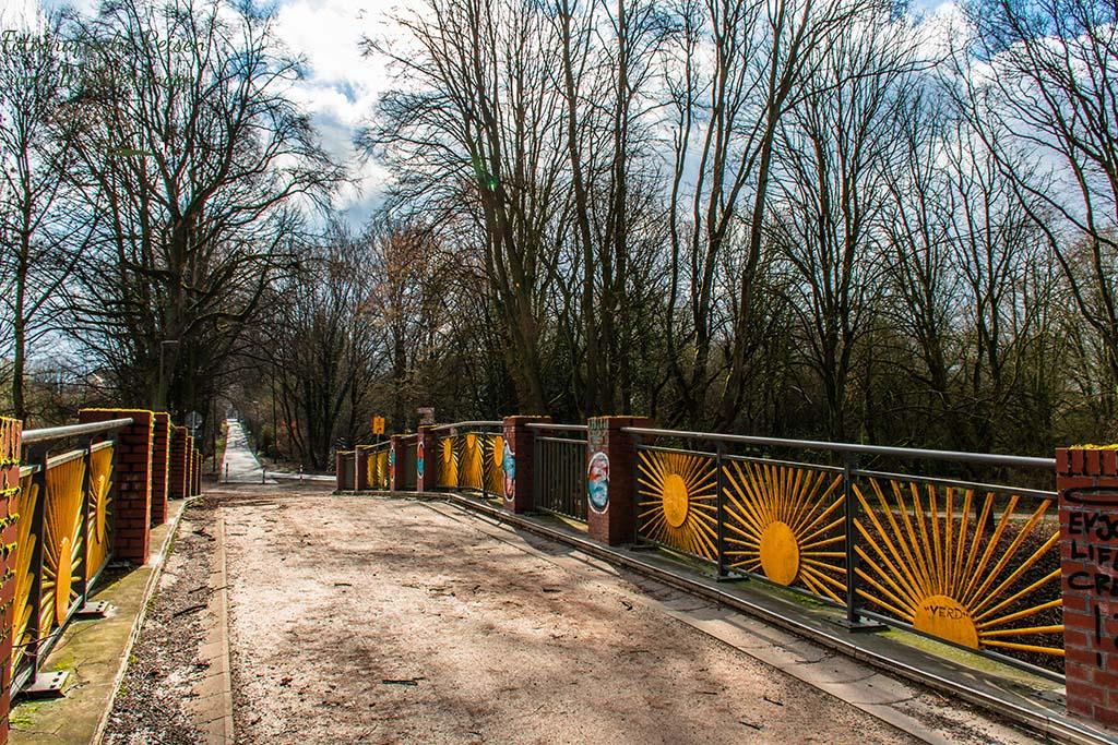 Die Sonnenbrücke - Der schönste Ort in Bochum