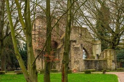 Vollansicht Ruine der Sylvesterkapelle