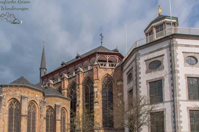 Eifelsteig Etappe 1 - Kornelimünster Pfarrkirche