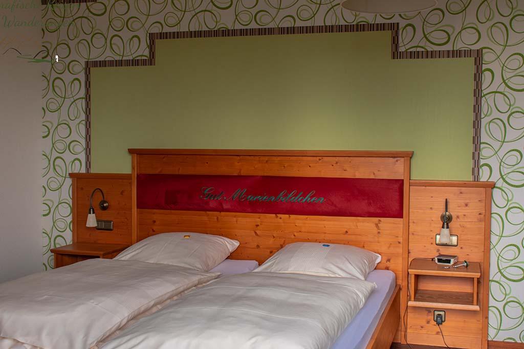 Zimmer für die Nacht im Gut Marienbildchen