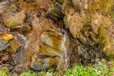 Eifelsteig Etappe 2, Wasser über Stein