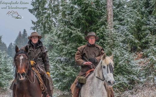 Die zwei wilden Reiter und Wilde Narzissen