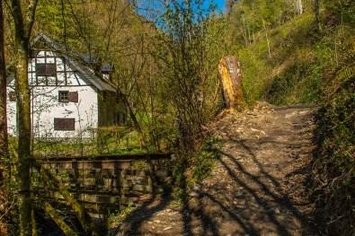 Bücheler Mühle - Wandern an der Wilden Endert