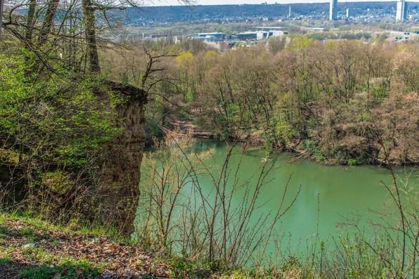 Felsen und Höhlen im Siebengebirge