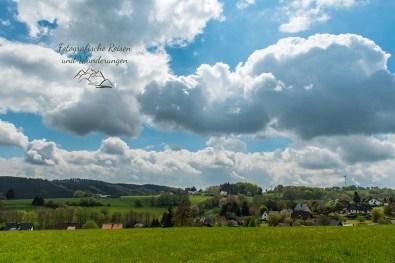 Landschaft vor Golbach