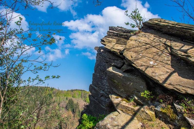 Teufelsley - Eifelsteig zwischen Monschau und Einruhr