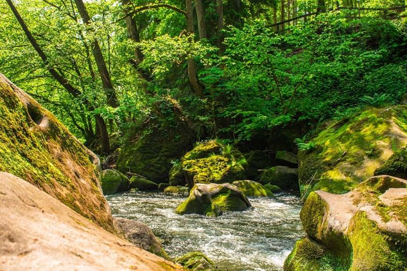 An den Irrler Wasserfällen