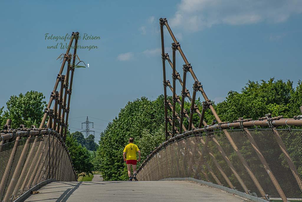 Die Mechtenbergbrücke - Grüne Oasen im Ruhrgebiet