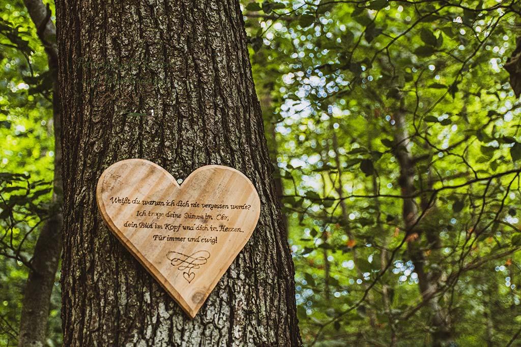 Herz am Baum