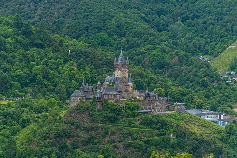 Burg Cochem - Kurz vor dem Apollofalter an der Mosel