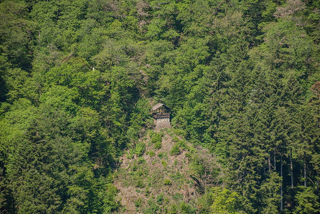 Blick auf die Schmitthütte