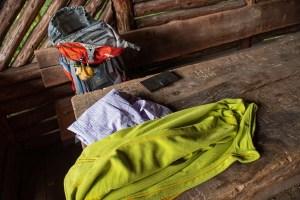 Klamottentausch in der Hütte