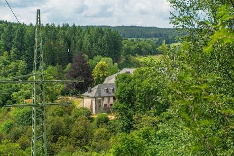 Blick auf Kloster Reichenstein