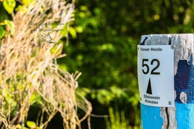 Wegezeichen 52 des Eifelverein Düren