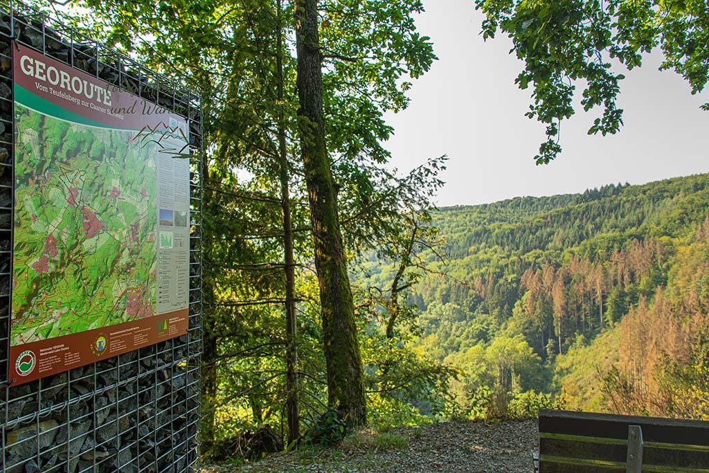 Vom Teufelsberg zur Caaner Schweiz