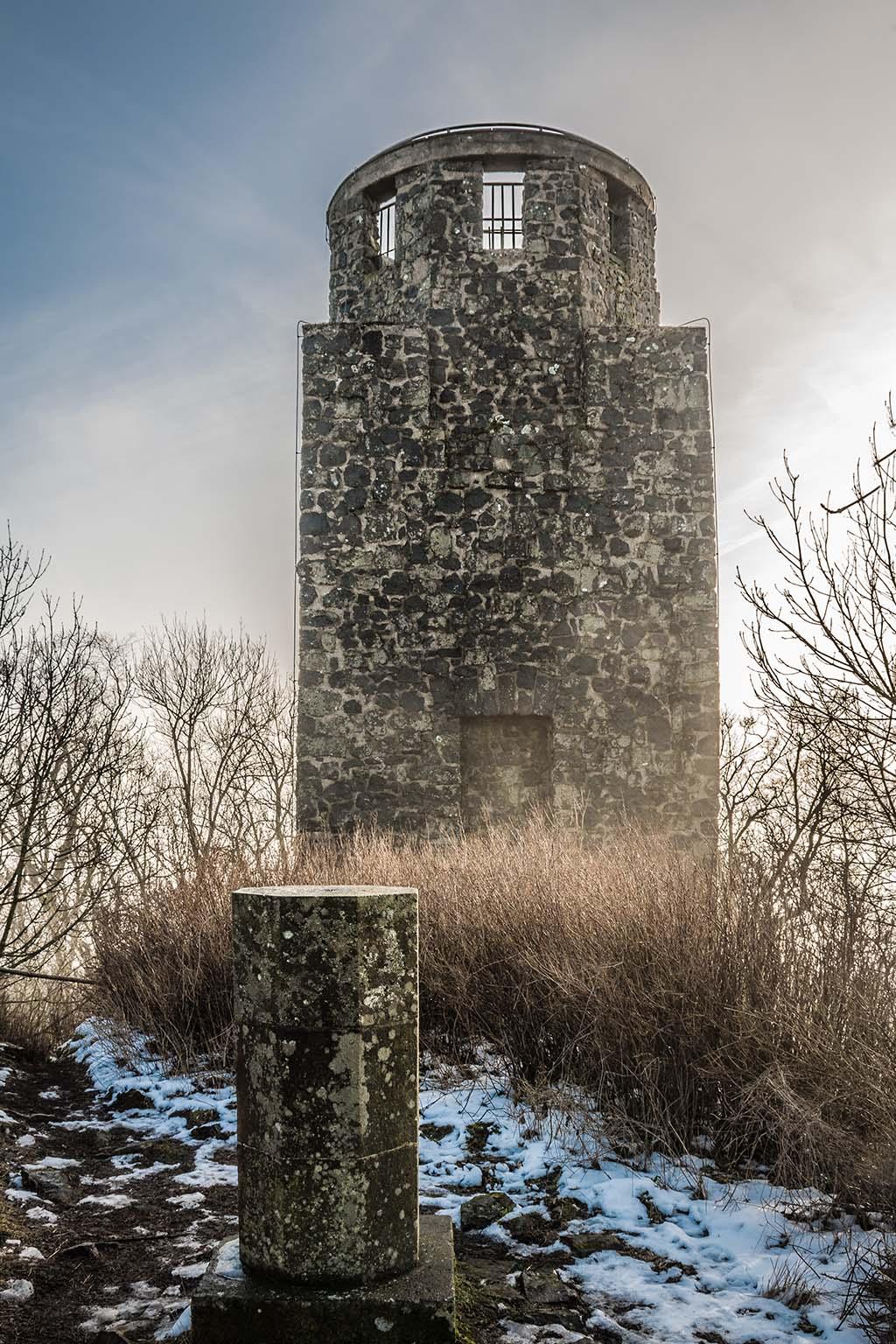 Kaiser-Wilhelm-Turm von hinten