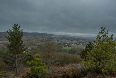 Blick in die Eifel - Eifelschleife Altusknipp - EifelSchleifen und Hochwildpark Rheinland